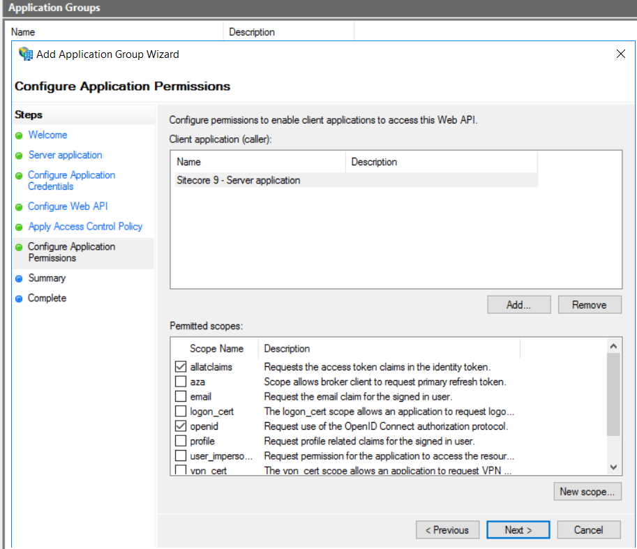 Federated Authentication in Sitecore 9 using ADFS 2016